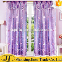 Best quality cheap embroidery window curtain