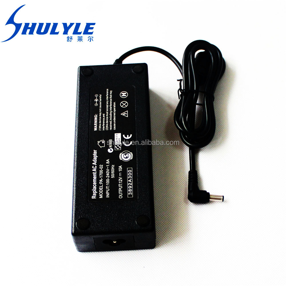 Trusted sellers OEM led power supply for LCD 12V 10A factory price