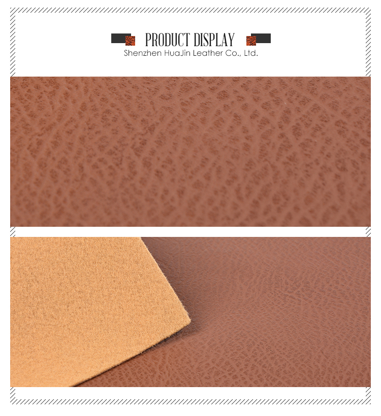 High quality pu synthetic vinyl furniture leather