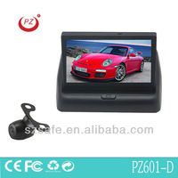 good selling secure parking car camera system with folding monitor