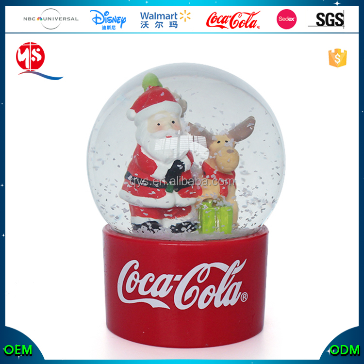 Gifts & Crafts Christmas Glass Snowball Santa Snow Globe Canada