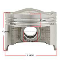 High quality CB400 motorcycle piston ,motorcycle spare parts