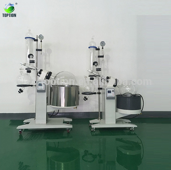 10l Rotary Evaporator With Industrial Price For Separating The Terpenes From Plant