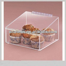 Bakery cookies plastic container