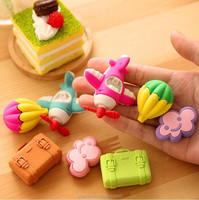 children fancy erasers sets/cutlery set 72/elegant cutlery set