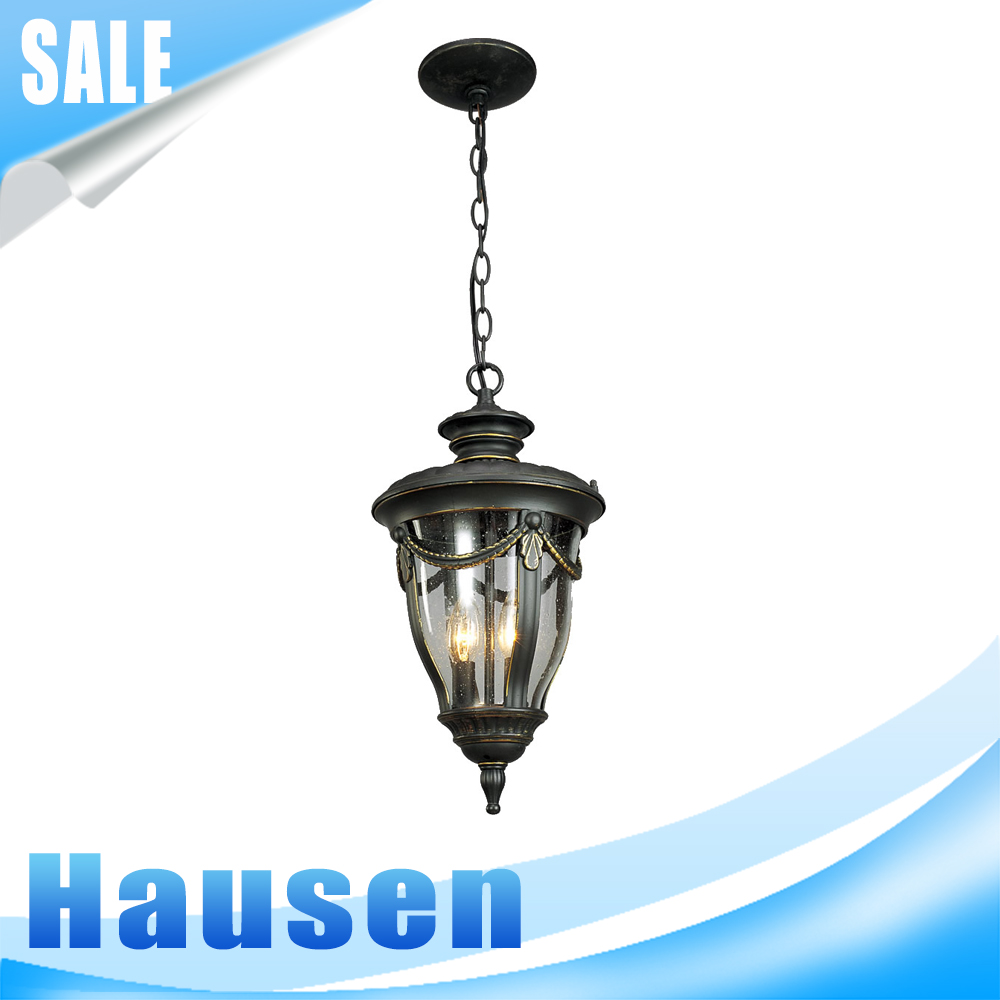 Alibaba china hot selling plaster modern outdoor pendant lamp