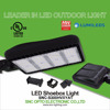 High Voltage 347 Volt LED Shoebox Light 300 Watt for Parking Lot