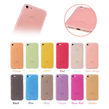 Super Hot Selling 12 Colos Available PP Back Case for iPhone 7, Samples Available