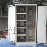 Waterproof Telecom Outdoor Cabinets Fiber Optic
