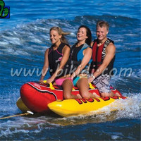New design inflatable banana boat,inflatable banana float D3008