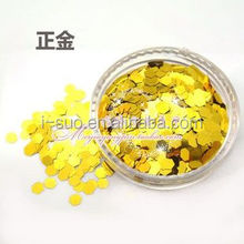 non-toxic gold color glitter powder for gel color decoration