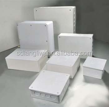 2017 hot sale pvc adapter box/ electrical box /switch box