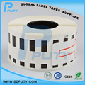 Compatible Continuous Thermal Paper DK-22211 Sticker Labels DK22211 for Brother 29MM*15.24m Black on white