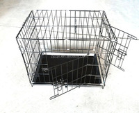 Folding Big heady duty dog cage