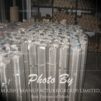 304, 304L, 316, 316L Stainless Steel Wire Mesh