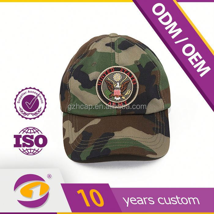 2014 New Design Customize Cotton Washed Military Hard Hat