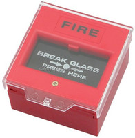 CE Fire fighting alarm button with emergency glass break