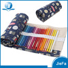Stationery set custom design canvas zip pencil pouch