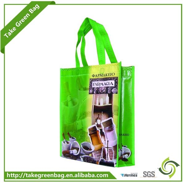 High quality standard size reusable nonwoven shopping bag
