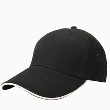 Best selling 100% cotton low cut fashion short brim baseball cap hats