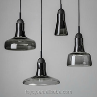 Modern Hand Blown Glass Pendant Lights for dining room