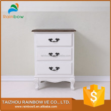 Beautiful design wooden night table wood cabinet small drawer