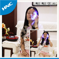 New products HNC 2015 New arrivals skin rejuvenation theratment equipment LED red and blue light beauty apparatus