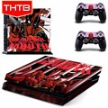 Latest deadpool decal sticker for ps4 playstation 4 console controller