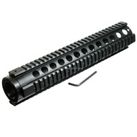 Tactical T-Serie 4/15 Free Float 12 Inch Handguard Quad Rail Scope Mount from POERY