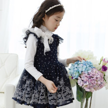 Import Export Fancy Princess Latin Indian Kids Dress For Girls