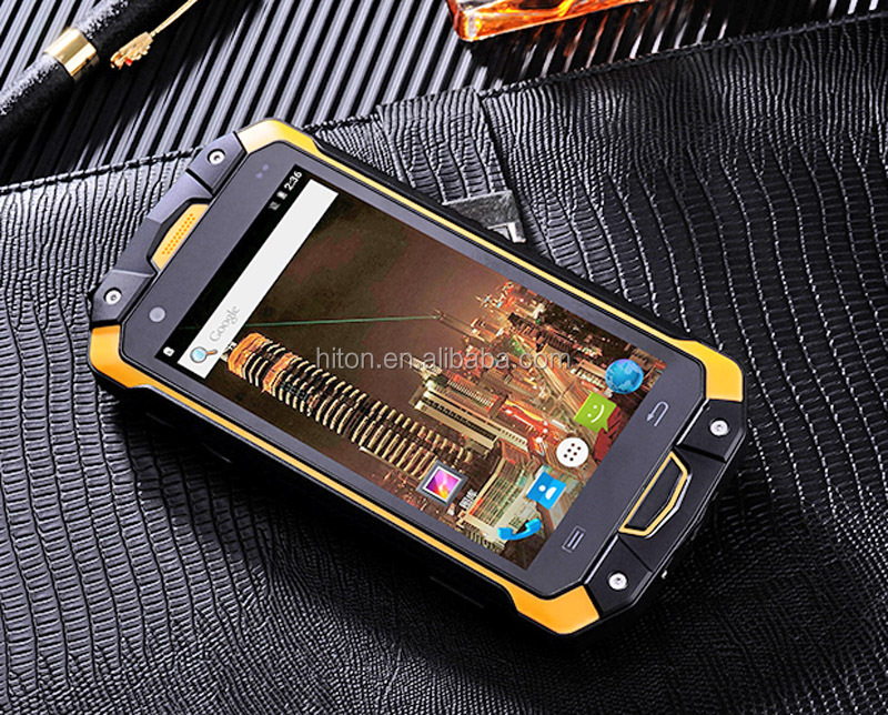 "4.5"" 4G LTE Octa Core MTK NFC rugged mobile phone with PTT SOS GLONASS GPS Rugged smart phone with 32GB Memory NFC IP68 Rugged"