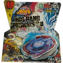 192pcs/carton Beyblade toy TOP metal top toy big bang pegasis BB105 4D bottom