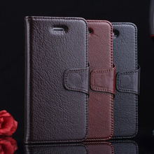 Business style leather cover for iphone 5s,for iphone 5s flip wallet case