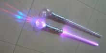 novelty popular kids toy flashing led Strobing Sword With Disco Ball