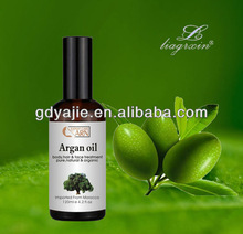 Private label hair products hair growth oil / argan oil for hair wholesale