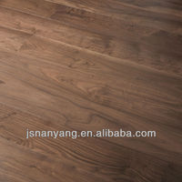 american walnut prefinished parquet hardwood flooring with CE,FSC,ISO certifications