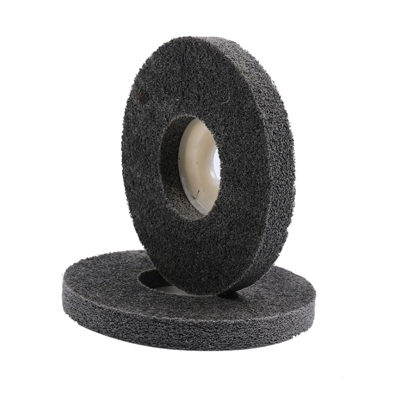 Electroplating Abrasive Non woven Unitized Abrasive Wheel  A-005
