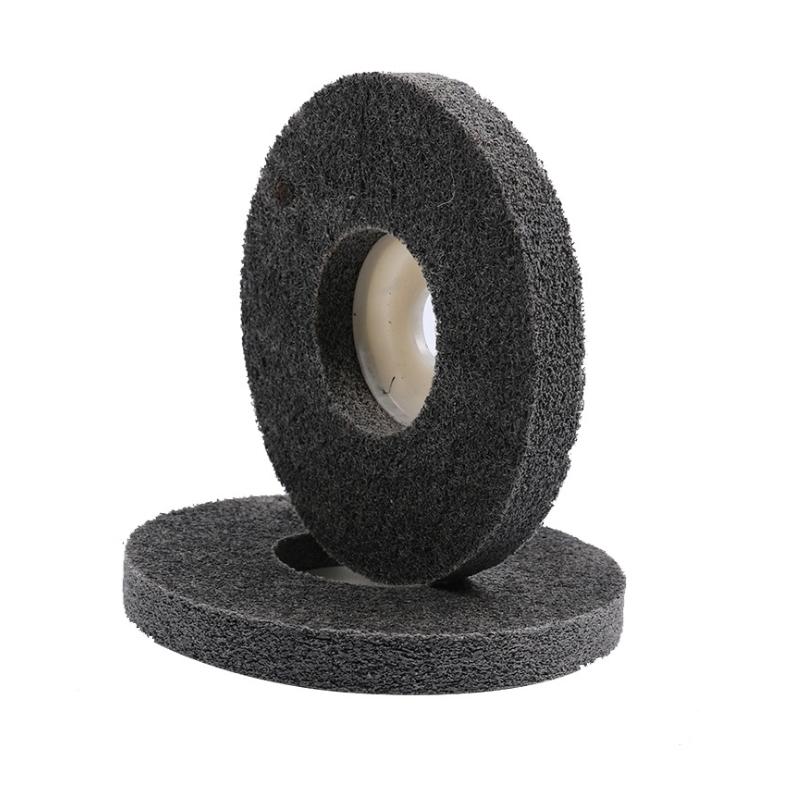 Electroplating Abrasive Non woven Unitized Abrasive Wheel  A-005