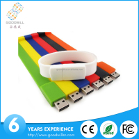 Cheap Silicon Wristband USB Flash Drives 8GB Wholesale