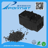 Factory Direct Sales High CTI plastic raw material for electronic switch injection molding Nylon Granules pa66 gf25 black