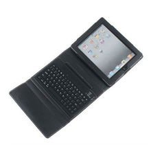 For iPad Bluetooth with Keyboard Leather Case