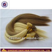Good quality remy hair extensions u tip