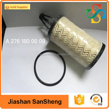 High quality auto accessories engine oil filter oem A2761800009 for benz