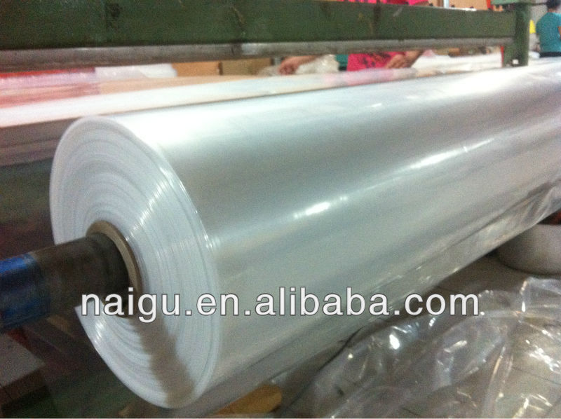 transparent high stickness pe plastic film for packing