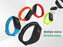 fitness tracker pedometer and heart rate waterproof cicret smart bracelet