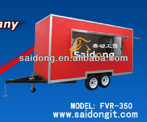 2013 best quality mobile food van for sale