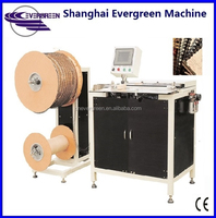 Automatic wire cut, wire binding Top quality double wire binding machine for calendar, spiral notebook