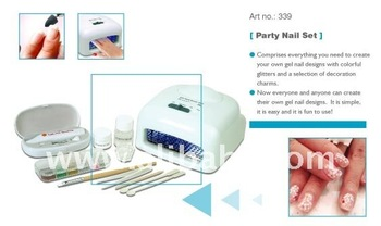UV Nail Party Nail Set