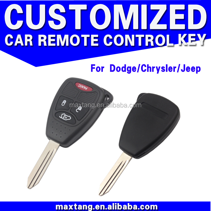 For Chrysler 3+1 Button Key Blank