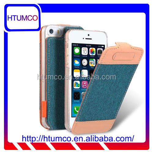 Newly Flip Cover Premium Leather Case for Apple iPhone 5s / 5